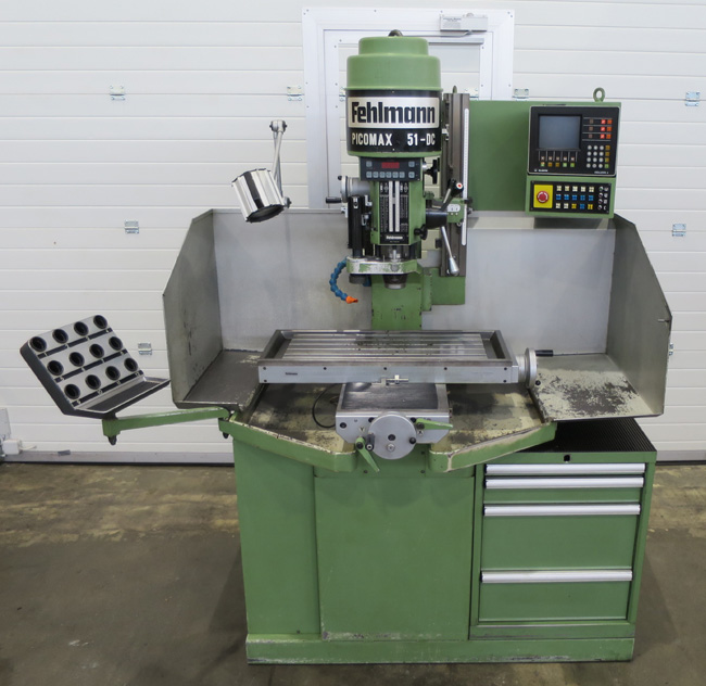 Bench drills FEHLMANN Picomax 51DC