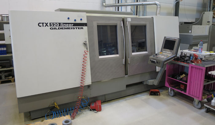 CNC Turning & milling centers GILDEMEISTER CTX-520 Linear
