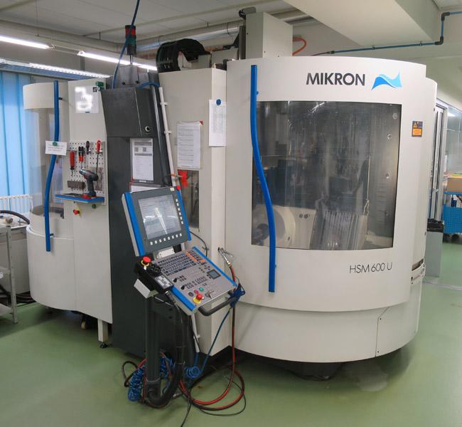 CNC universal machining centers MIKRON HSM 600U