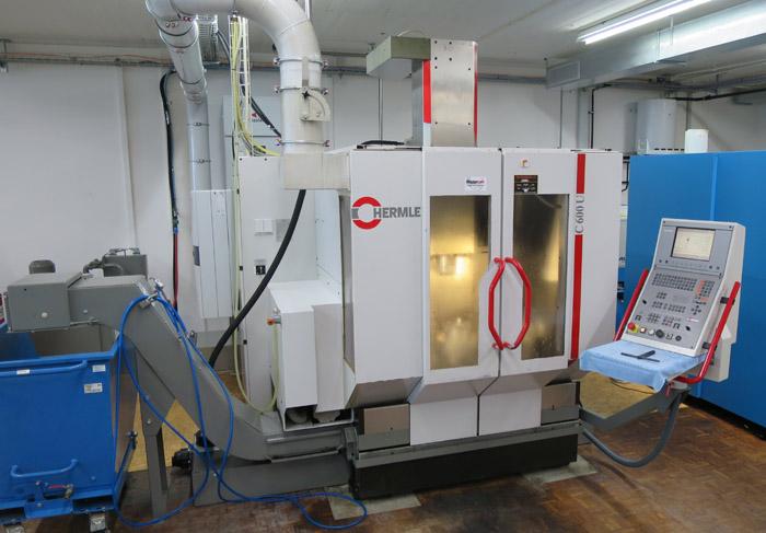 CNC universal machining centers HERMLE C 600 U