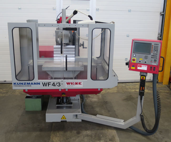 CNC milling machines KUNZMANN WF4/3