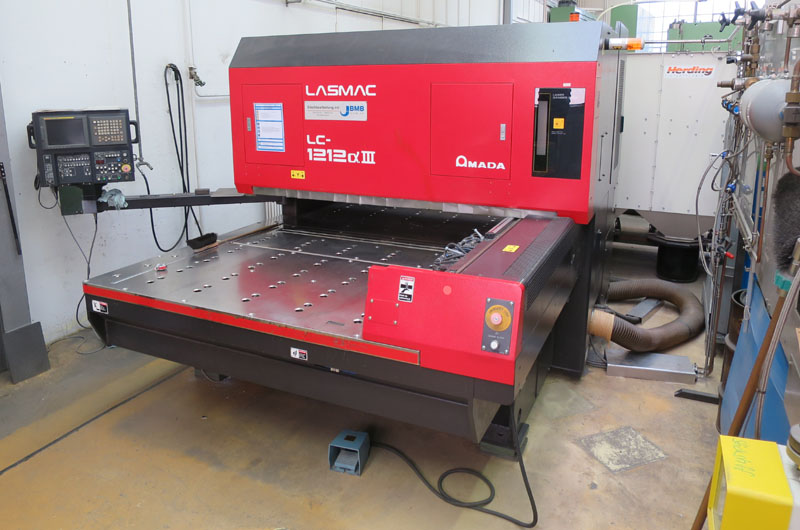 Laser cutting machines AMADA LC1212 A3