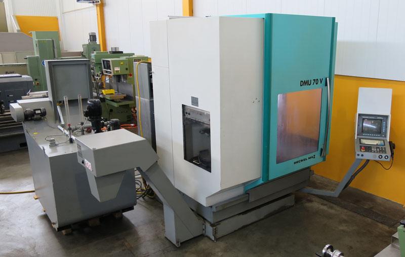 CNC universal machining centers DMG DMU 70V
