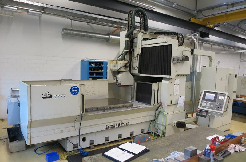 CNC FLACH- UND PROFILSCHLEIFMASCHINEN ZIERSCH & BALTRUSCH Twinmaster 16.100