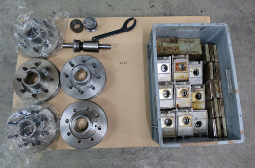 CNC surface and profile grinding machines ZIERSCH & BALTRUSCH Twinmaster 16.100
