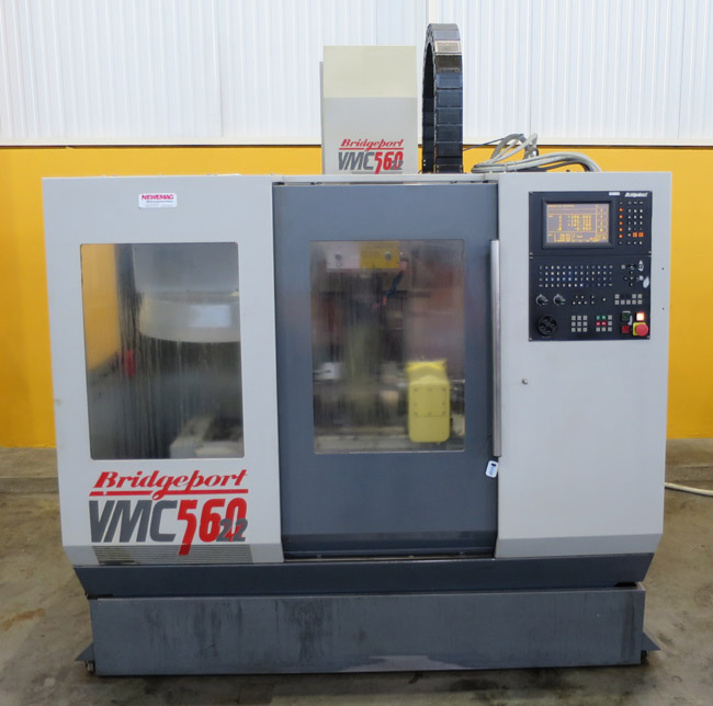 CNC vertical machining centres BRIDGEPORT VMC-560