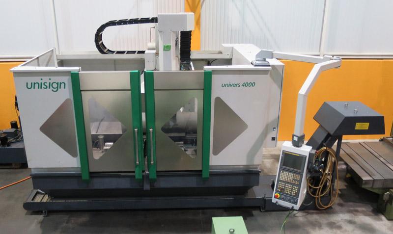 CNC vertical machining centres UNISIGN Univers 4000