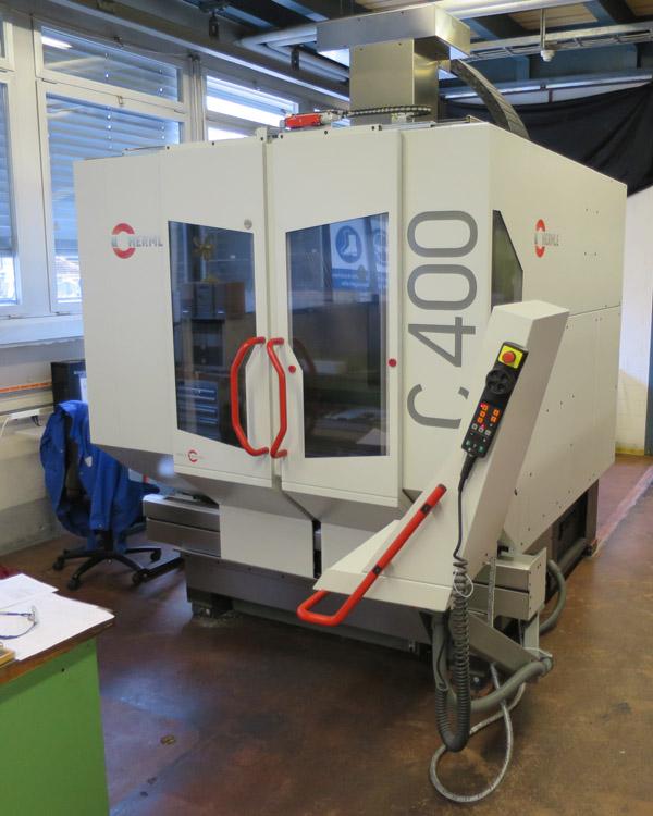 CNC vertical machining centres HERMLE C400 V