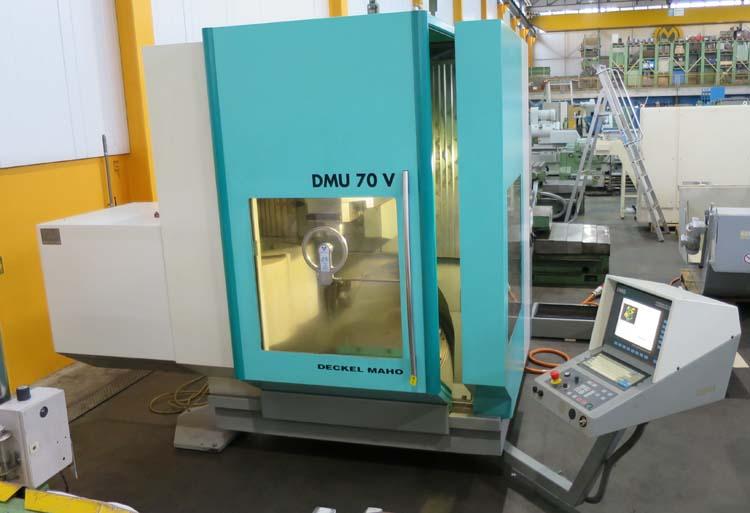 Centros macanizados universales DMG DMU 70V