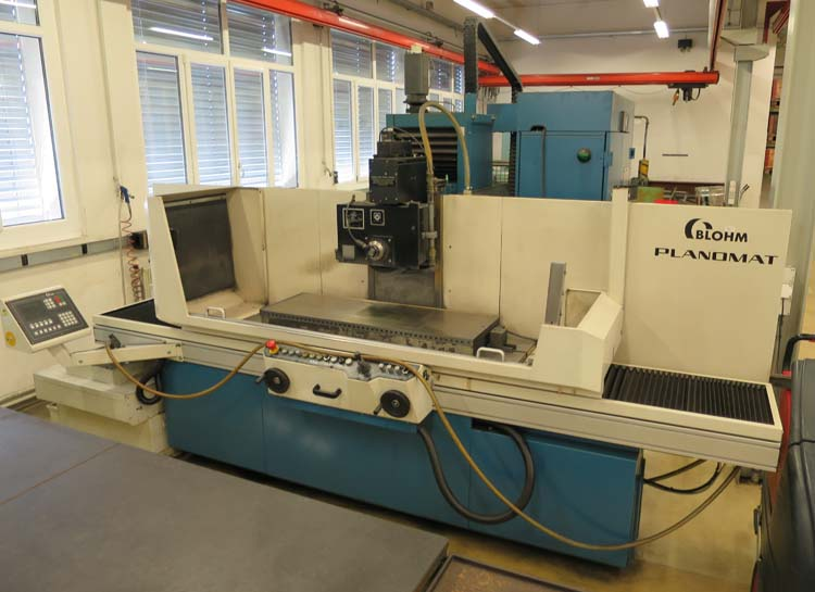 Surface grinding machines BLOHM Planomat 412