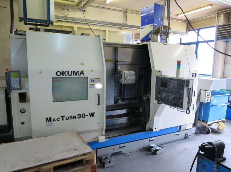 Centros mecanizado para tornear y fresar OKUMA MacTurn 30W