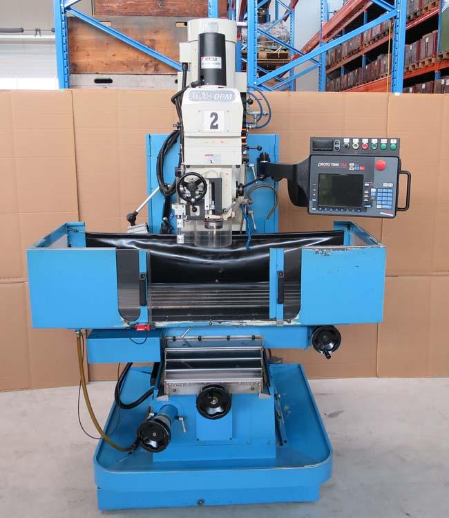 Fresadoras de control CNC TRAK DPM-750