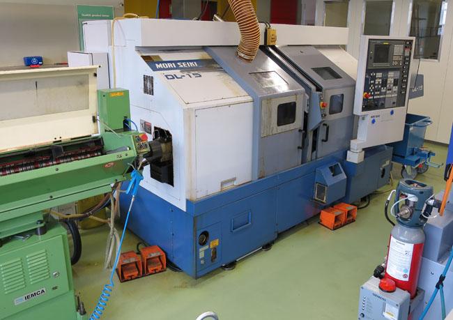 CNC Turning & milling centers MORI SEIKI DL15