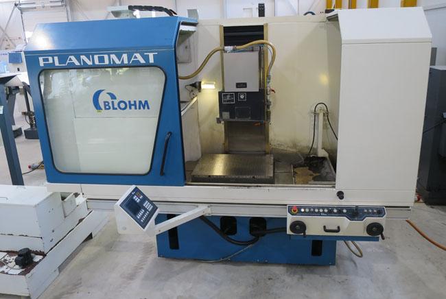 CNC FLACHSCHLEIFMASCHINEN BLOHM Planomat 608