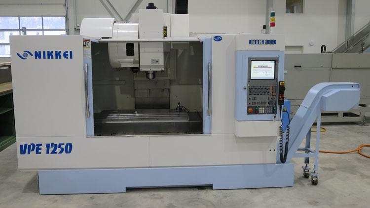 Centros mecanizados verticales NIKKEI VPE-1250