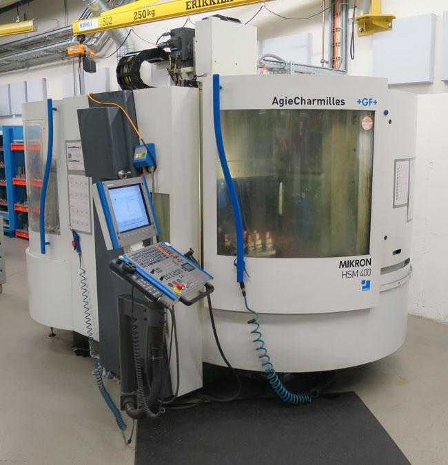 Centros mecanizados verticales MIKRON HSM400