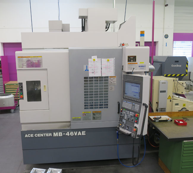 CENTRES D'USINAGE VERTICAL OKUMA MB-46VAE