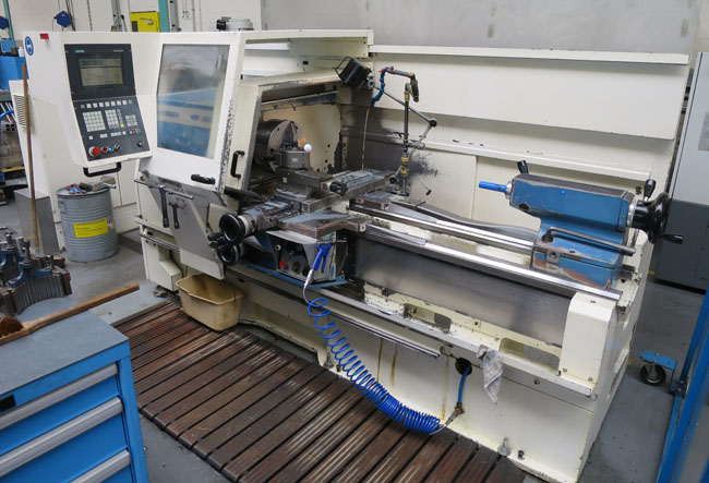 Teach-In lathes VDF BOEHRINGER DUS560x1000