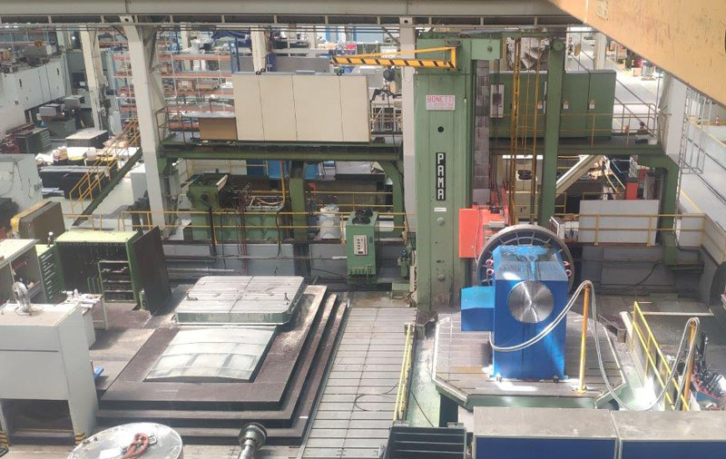 CNC Table type horizontal boring machines PAMA FT 180A