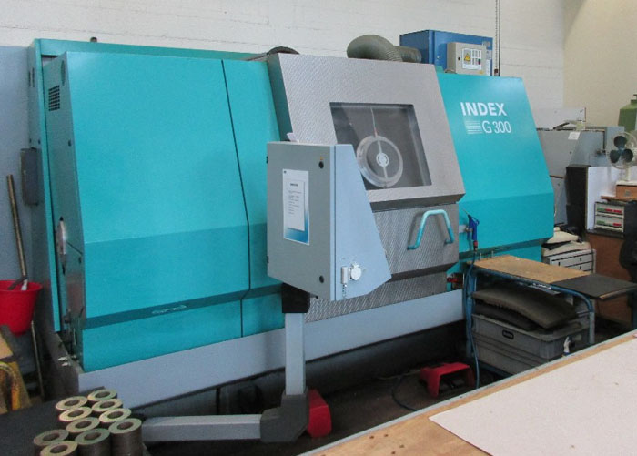 Centros mecanizado para tornear y fresar INDEX G300