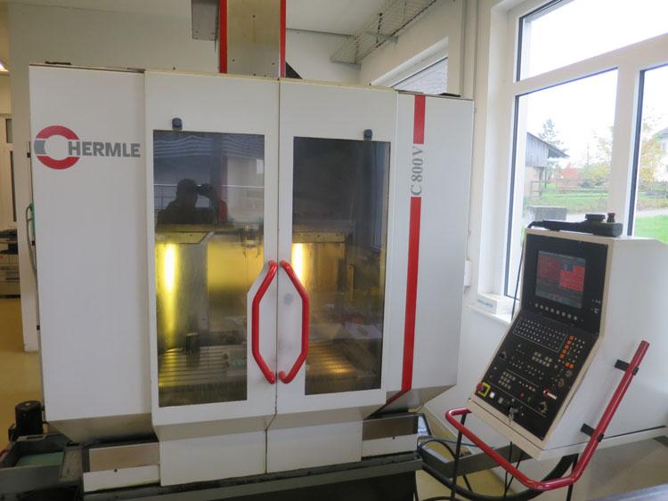 CNC vertical machining centres HERMLE C800V