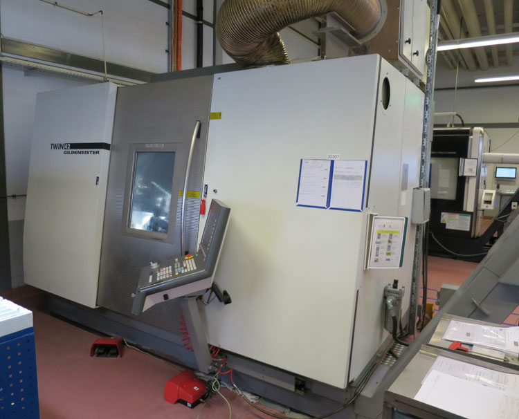 CNC Turning & milling centers GILDEMEISTER Twin 42-II