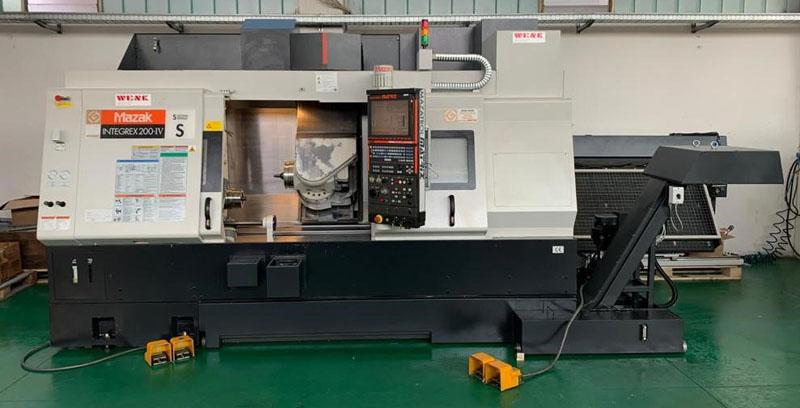 CNC Turning & milling centers MAZAK Integrex 200-IV