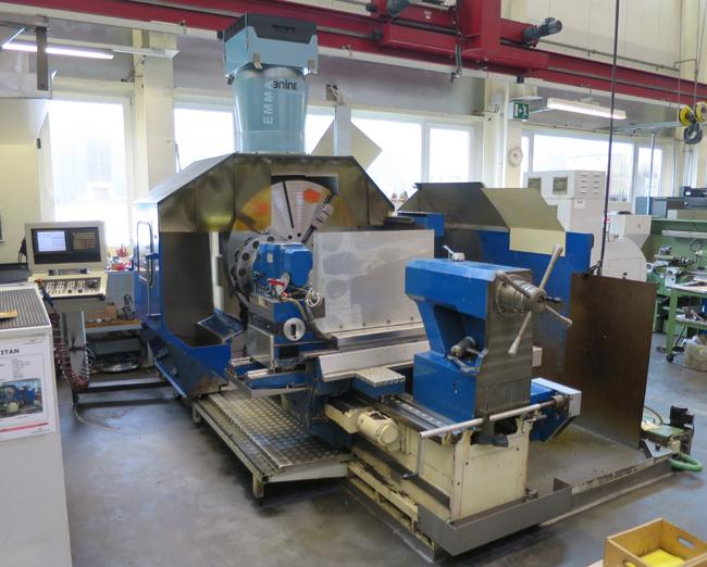 CNC lathes TITAN SPCN-1250