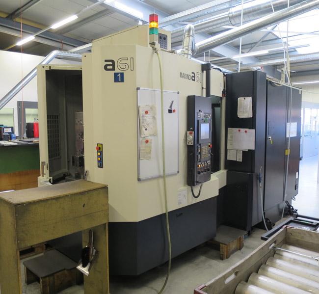 CNC horizontal machining centres MAKINO A61