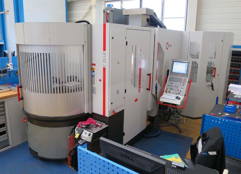 CNC universal machining centers HERMLE C20 UP