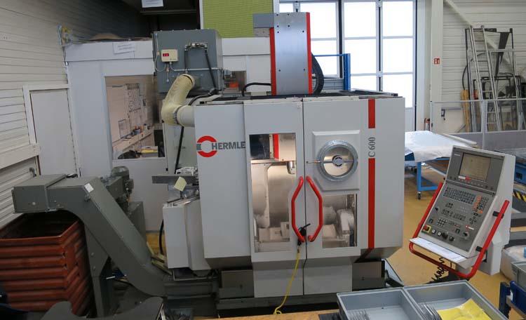 CNC universal machining centers HERMLE C600 U