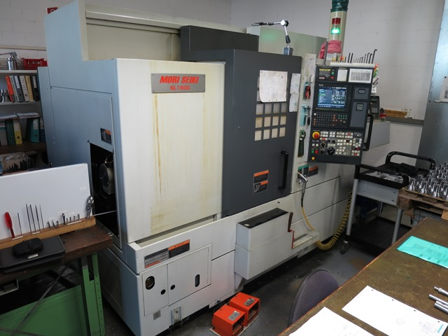 CNC DREH- UND FRÄSZENTRUM MORI SEIKI NL1500MC/500